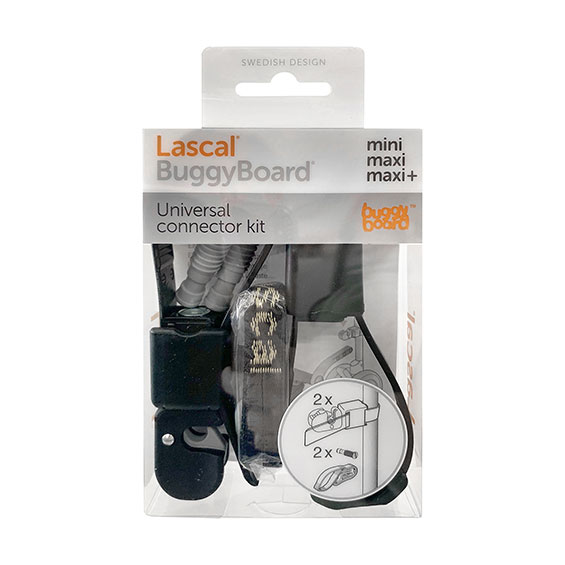 The universal connector kit for BuggyBoard